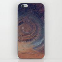 nasa iPhone & iPod Skins featuring eye in the sky, eye in the desert (nasa #01) by _mackinac