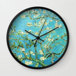 Vincent Van Gogh Almond Blossoms Wall Clock