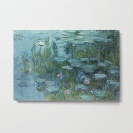 Monet, Water Lilies, Nympheas, Seerosen, 1915 Metal Print