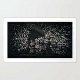 Kutna Hora near Prague Art Print