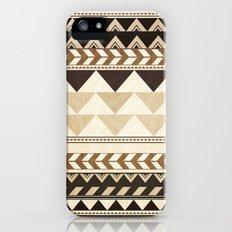 Woodwork Pattern iPhone (5, 5s) Slim Case