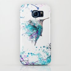HUMMING BIRD SPLASH Slim Case Galaxy S6