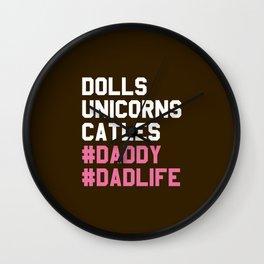 Dad Life Wall Clock