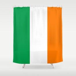 Flag of Ireland - Irish Flag Shower Curtain