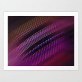 Smooth light Art Print