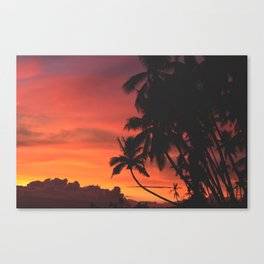 Palm Tree Majesty Canvas Print