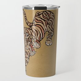 Tiger in Asian Style Travel Mug