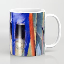 "Franz Marc ""Three Fabulous Beasts (also known as Creation of Horses)"" Coffee Mug"