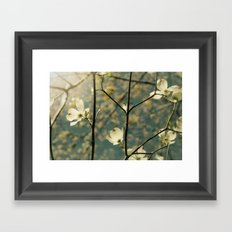 Spring tapestry Framed Art Print