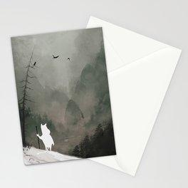 Buka - God of Winter Stationery Cards