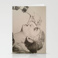 grimes Stationery Cards featuring GRIMES by Bailey McNicol