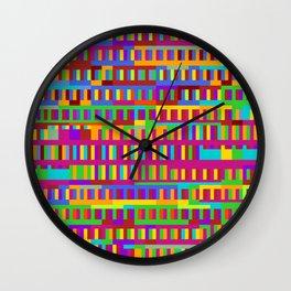Beethoven Moonlight Sonata (Rainbow Hues) Wall Clock