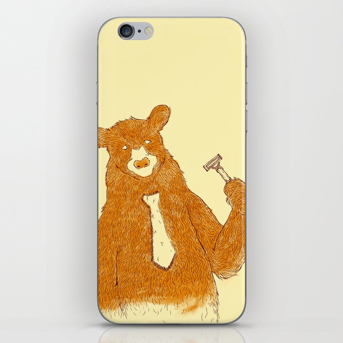 Office Bear iPhone Skin