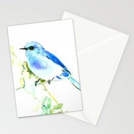 Mountain Bluebird homde decor Stationery Cards