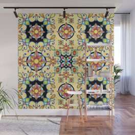 Rococo Starburst Wall Mural