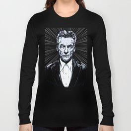 The Twelfth Doctor - Peter Capaldi Long Sleeve T-shirt
