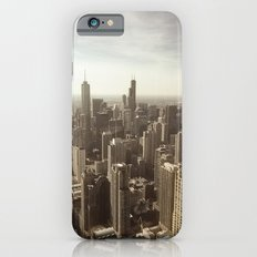 Chicago Buildings Sears Tower Sky Sun Color Photo Slim Case iPhone 6s