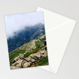 Mount Lafayette in the Clouds Stationery Cards
