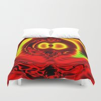 scuba Duvet Covers featuring Scuba by otorography