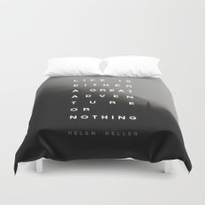 Adventure or Nothing Duvet Cover