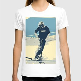 On the Rim - Scooter Boy T-shirt