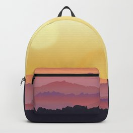 Mountain Sunset Backpack