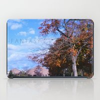 college iPad Cases featuring College by Vickyyyy