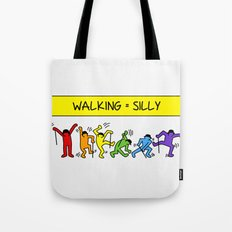 Pop Shop Silly Walks Tote Bag