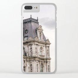 Paris Hotel de Ville Clear iPhone Case