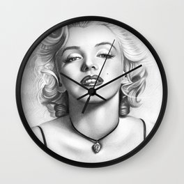 Clasic Marilyn Wall Clock