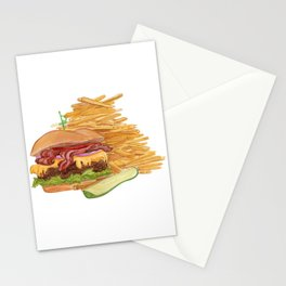 Dinner Time Stationery Cards