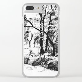 Untitled 8 Clear iPhone Case