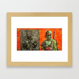 """ He's no good to me dead."" Framed Art Print"