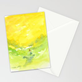 Walking in the Sun Stationery Cards