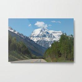 Mount Robson Photography Print Metal Print