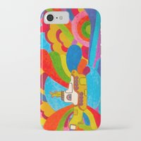 submarine iPhone & iPod Cases featuring Yellow Submarine by Jaime Viens