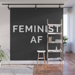Feminist AF Quote Wall Mural