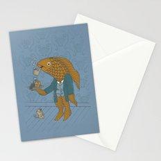 Big Eyed Fish Stationery Cards