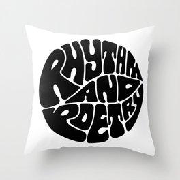 Rap Throw Pillow