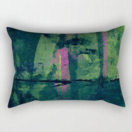 Por Debajo del Puente Rectangular Pillow