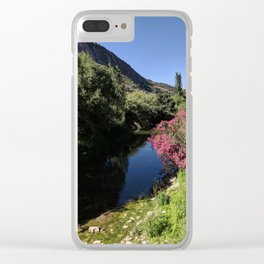Silent Andalusian Riverside Clear iPhone Case