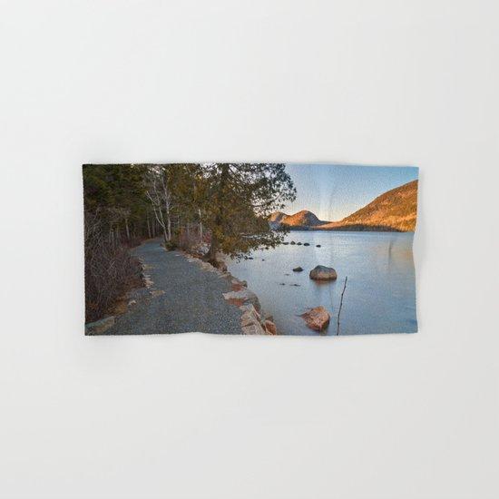 Jordan Pond Trail Hand & Bath Towel