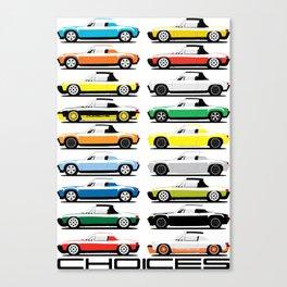914 Choices Canvas Print