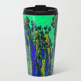 Cartoon Cactus Summer Daze Travel Mug