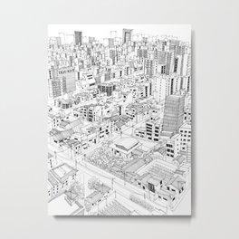 Asakusa, Japan Metal Print