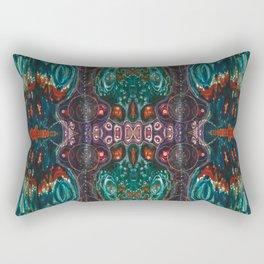 Pulse of Kelp (Sonic Sea Surge) Rectangular Pillow
