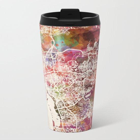 San Diego Metal Travel Mug