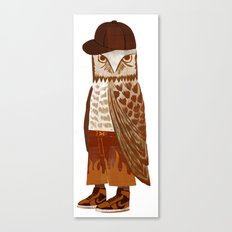 Hip Hop Owl Canvas Print