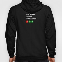 subway grand concourse sign Hoody