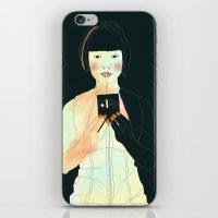 atlas iPhone & iPod Skins featuring CLOUD ATLAS by Itxaso Beistegui Illustrations